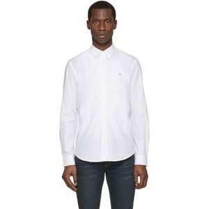 Acne Studios White Jeffrey Pop Button Down